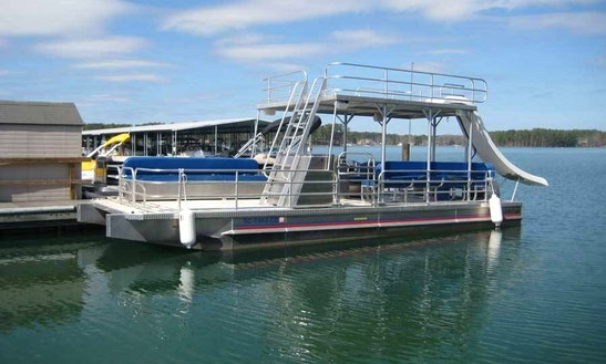 Charter 30' Double Decker Pontoon In Key West, Florida