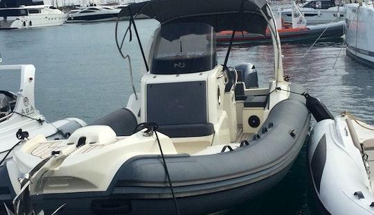 Charter Prince 30 Rigid Inflatable Boat In Split, Croatia