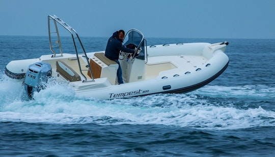 Rent & Explore Croatia's Coast On This Capelli Tempest 600 Rib In Zadar