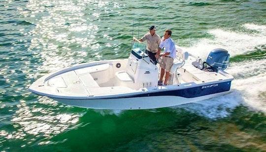 20' Sea Fox 200 Viper Center Console Rental In Stock Island, Florida