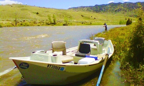 Drift Boat Fishing Trip In Casper