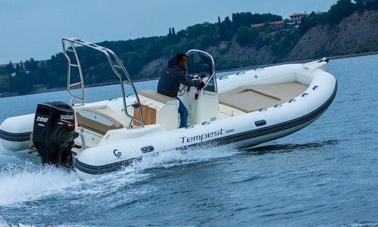 Capelli Tempest 650 + Suzuki 200