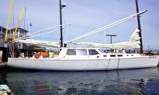 65' Cruising Monohull Charter In San Francisco, California