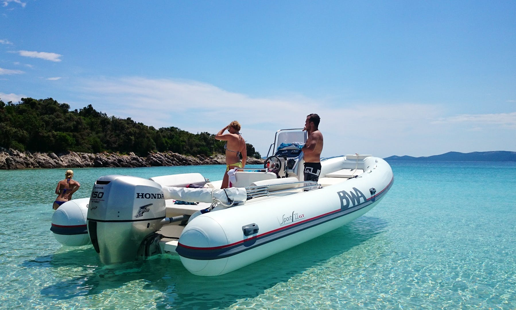 Rent this RIB in Zadar, Croatia for Summer Boating Fun
