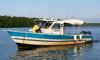 Enjoy SAIL FISH Fishing in Kuala Rompin, Pahang on Cuddy Cabin