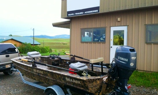 River Jet Boat Fishing Charter In Montana