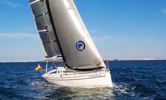Sailing Charter On Tucana 28 Boat In Altea