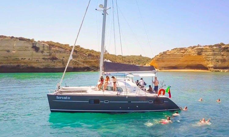 Charter Lagoon 410 S2 Cruising Catamaran in Faro, Portugal