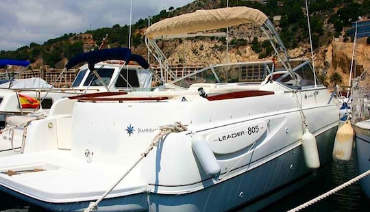 Sailing Charter On Jeanneau Leader Boat In Altea