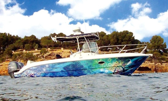 Sessa Key Largo 25' Center Console Rental In Tarragona, Spain