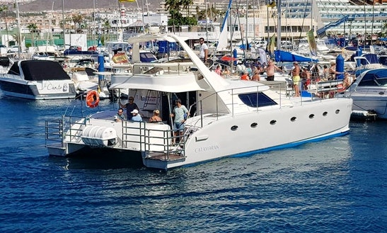 Charter A Power Catamaran In Costa Adeje, Canarias
