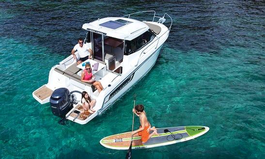 Rent This Merry Fisher 695 + Suzuki 150 Power Boat In Zadar, Croatia