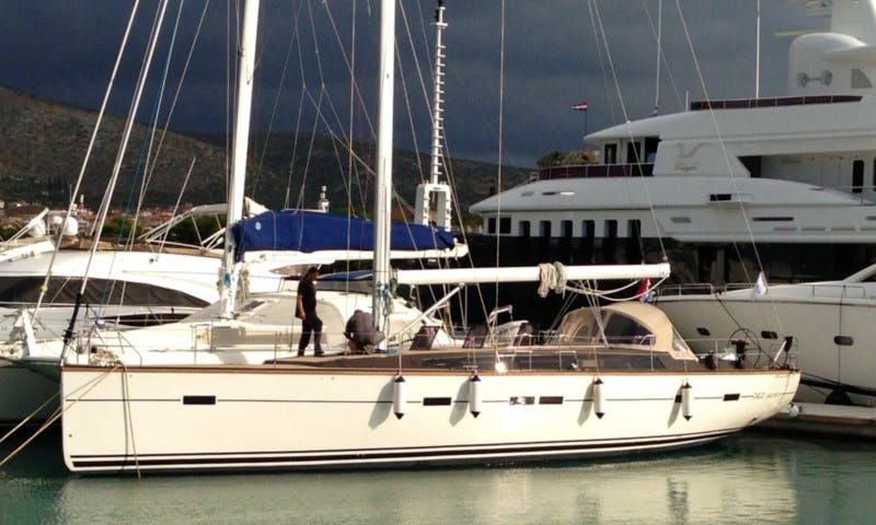 Charter Kufner 54 Cruising Monohull in Zagreb, Croatia