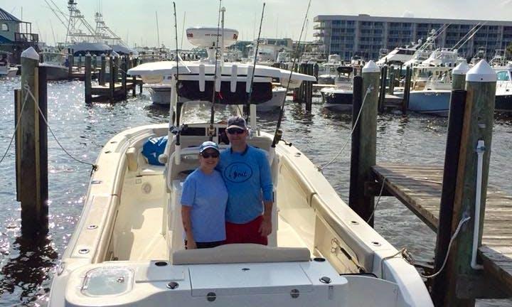 Enjoy Fishing On 19' Cape Horn Bay Boat In Orange Beach, Alabama