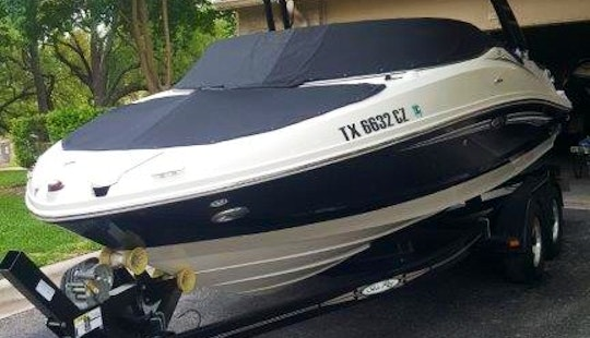 Have A Blast On The Water Of Lake Travis With This Stellar Wake Boat