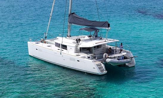 45' Cruising Catamaran Charter In Barcelona, Spain
