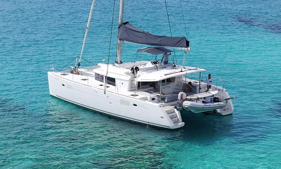 Lagoon 450 Cruising Catamaran Charter In Ibiza