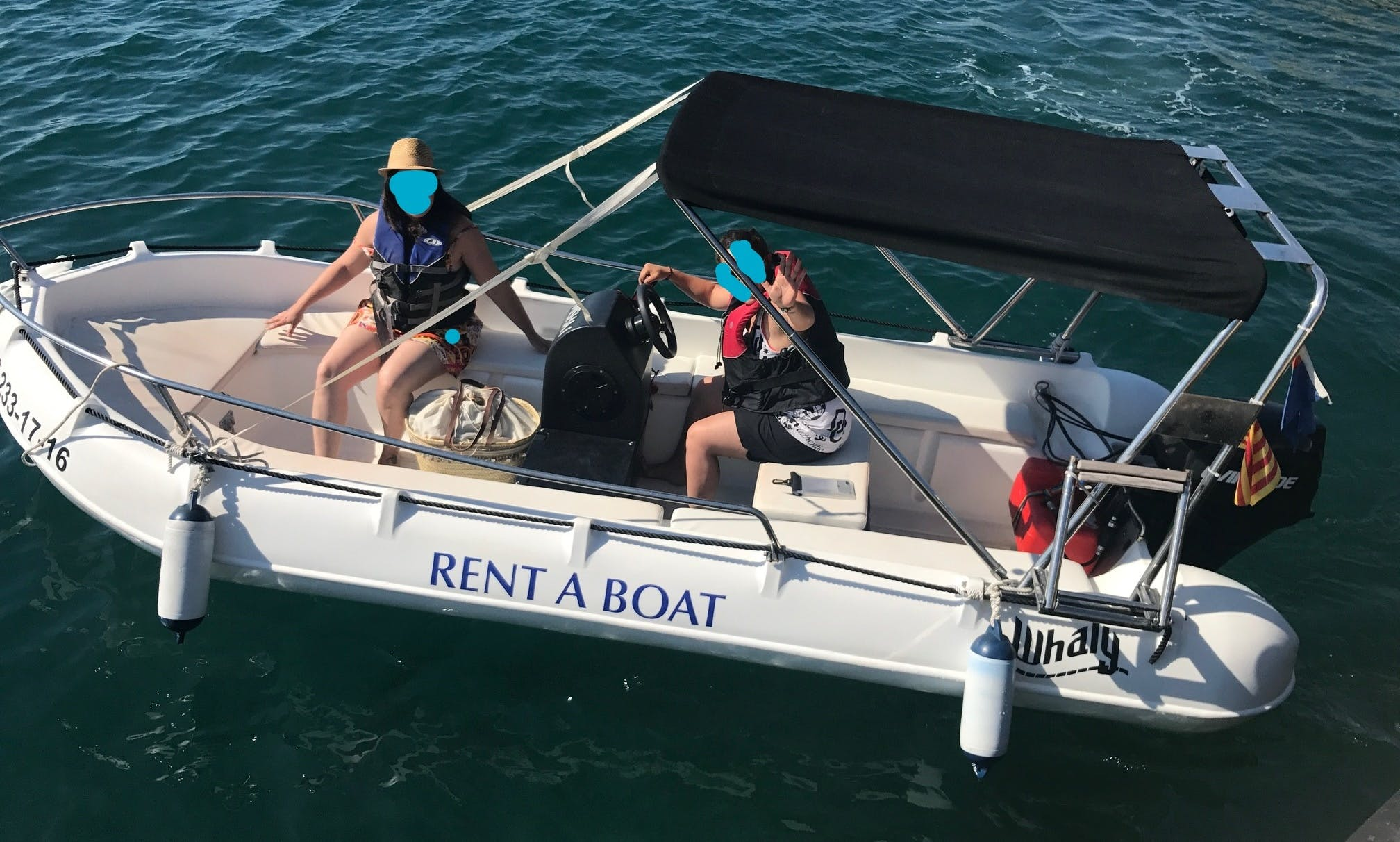 RIB rental in Estartit