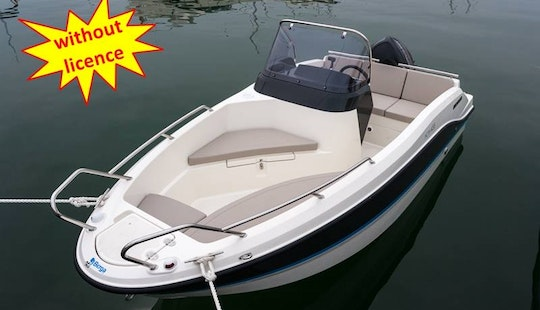 Quicksilver Activ Q455 Open Boat (rent Without Licence) In Palma, Spain
