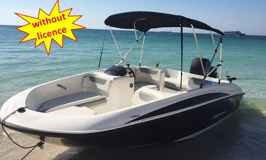 Rent This 2017 B500 Bayliner Speed Boat Without License In Palma, Spain