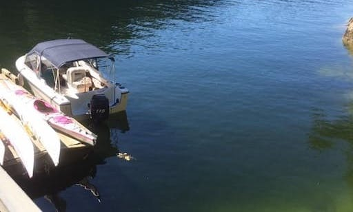 Vancouver Boating Adventures - Adventure deck boat
