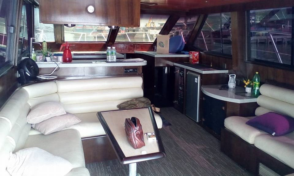 48' Nova Motor Yacht in Port Klang