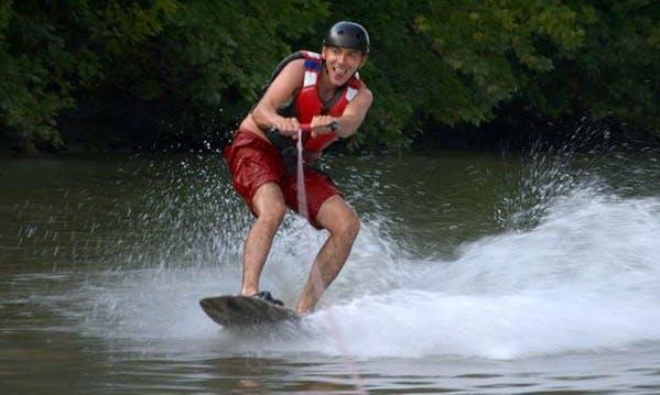 Enjoy Wakeboarding in Győr, Hungary