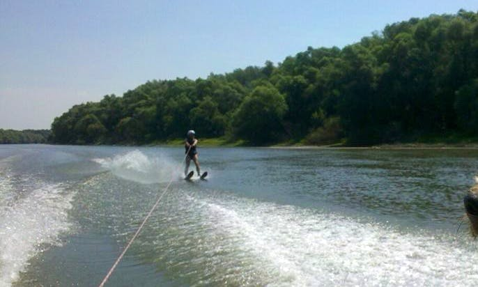 Enjoy Water Skiing in Győr, Hungary