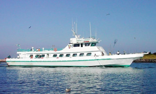 300 Person Fishing Vessel Charter In New York