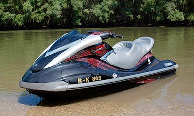 Rent Yamaha Wave Runner FXHO 160 Jet Ski in Győr, Hungary