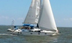 Charter this 42ft Hunter Passage Sailboat in Edgewater, Maryland and sail on the beautiful Chesapeake Bay