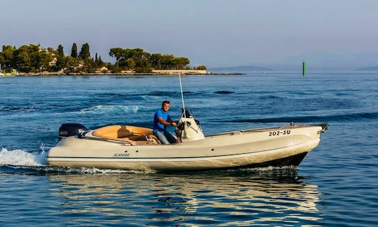 Ride Through The Waves On A  Rigid Inflatable Boat Charter In Supetar, Croatia
