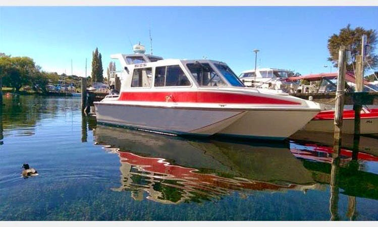 Hire 20' Center Console Tri Hull Boat in Taupo, New Zealand