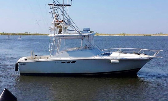 30' Sport Fishing Charter In Biloxi