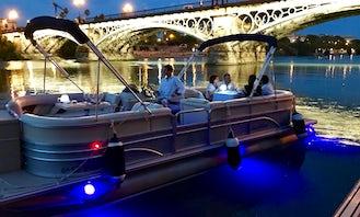 Enjoy Private Boat Trip On Pontoon In Sevilla, Spain