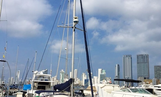 Charter The 36' Fountaine Pajot Tobago Cruising Catamaran In Cartagena, Colombia