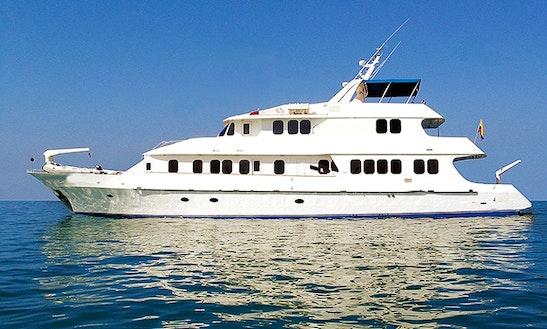 2006 Tip Top Iv 125' Motor Yacht Charter In Puerto Ayora