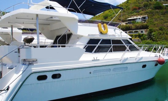 48ft Horizon Motor Yacht Charter In Tortola, British Virgin Islands