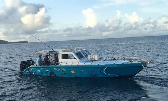 Enjoy Fishing In Sainte-luce, Martinique On Milan Express Cuddy Cabin