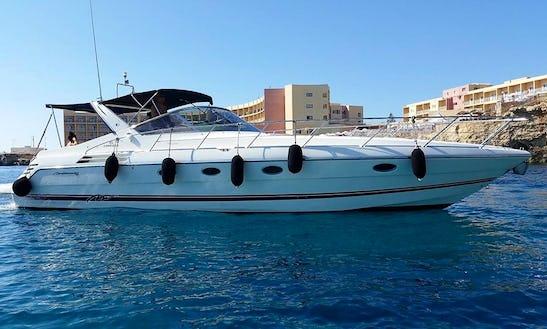 Charter 41' Cranchi Motor Yacht In Il-Ħamrun, Malta