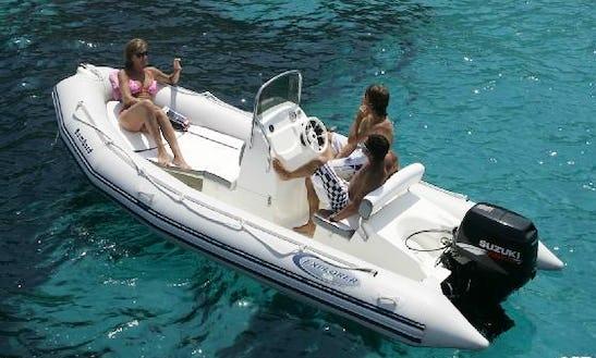 Rent A Rigid Inflatable Boat In Ta' Xbiex, Malta