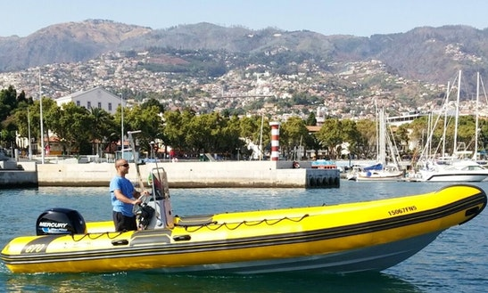 Charter A Rigid Inflatable Boat In Funchal, Portugal