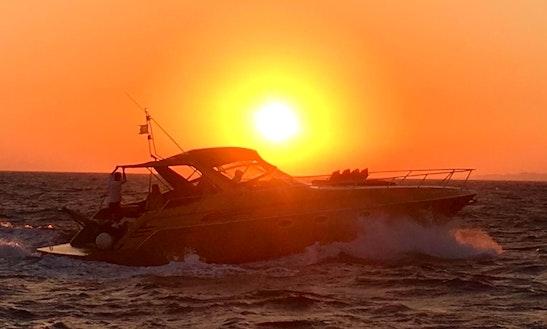 Chranchi 41' Gold Motor Yacht In Mykonos