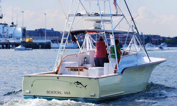 'Reel Pursuit' Boat Fishing Charters in Charlestown