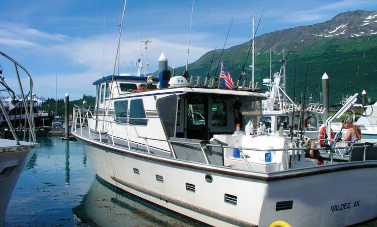 Bottom & Wreck Fishing in Valdez, Alaska on a Trawler
