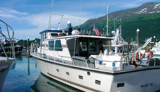 Bottom & Wreck Fishing In Valdez, Alaska On A Trawler