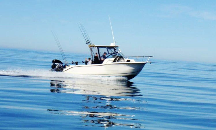 'The Right Hook' Inshore Fishing Charter in Tofino
