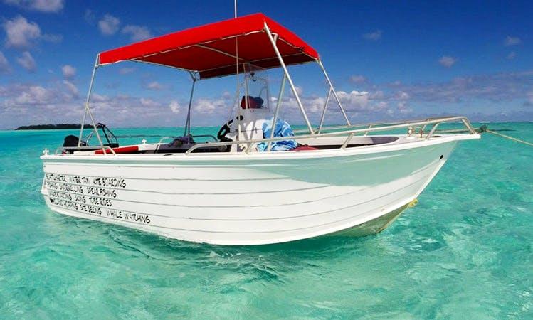 'Wet & Wild' Fishing Charter in Aitutaki