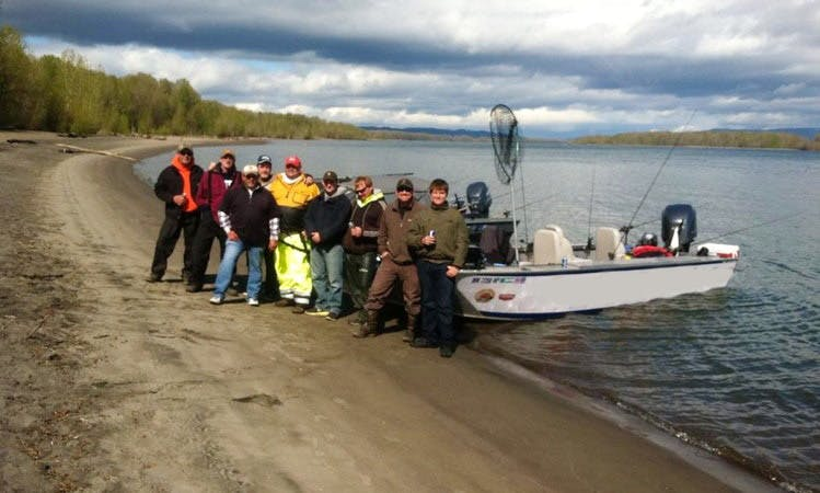 Pro Guided Fishing Adventures in Washington, Oregon, & the Columbia River