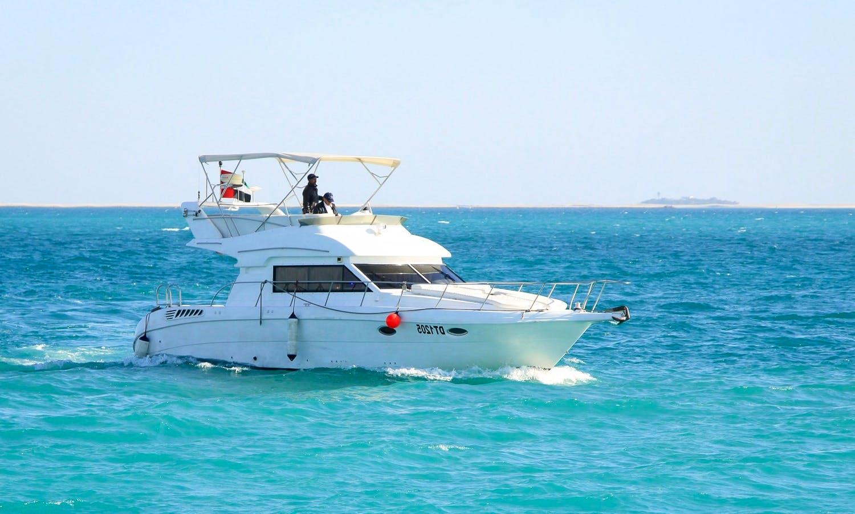 "45ft ""Arabian Princess"" Al Wasmi Gulf Craft Yacht Charter in Dubai, UAE"